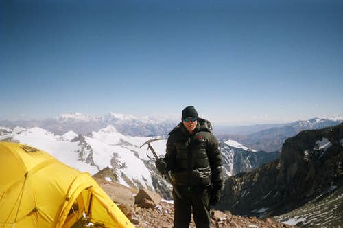 At 19,100 ft. on Aconcagua