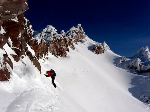 Guy Entering Sargents Traverse