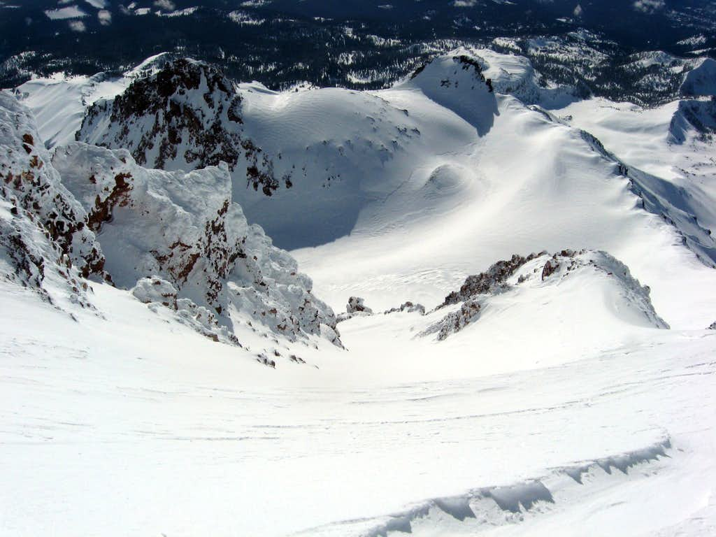 The Slopes Below Sargents Traverse