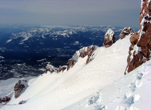 The Full Length of the Slopes on Sargents Traverse