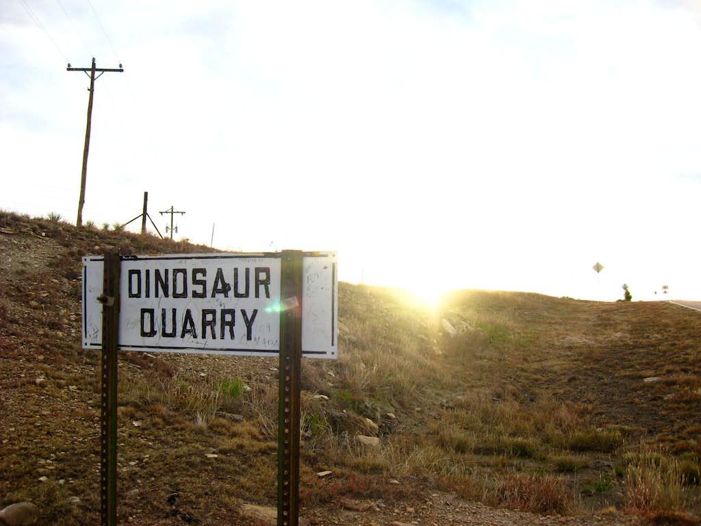 dinosaur quarry near black mesa
