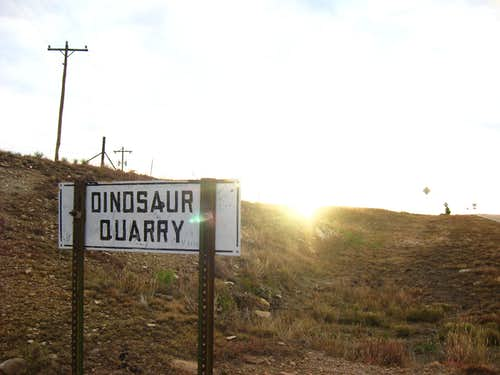 dinosaur quarry near black mesa
