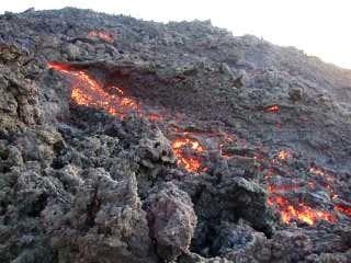 Roasting marshmallows on lava - Hiking Volcan Pacaya