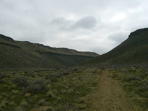 Guffey Butte Canyon