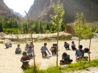 Amin Brakk Public School Students Kanday