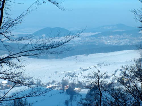 Fine view from Bukowiec