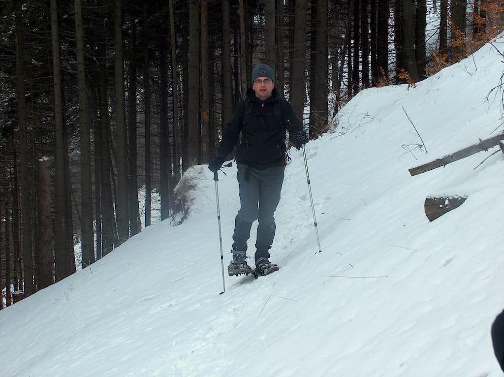 Going down Bukowiec
