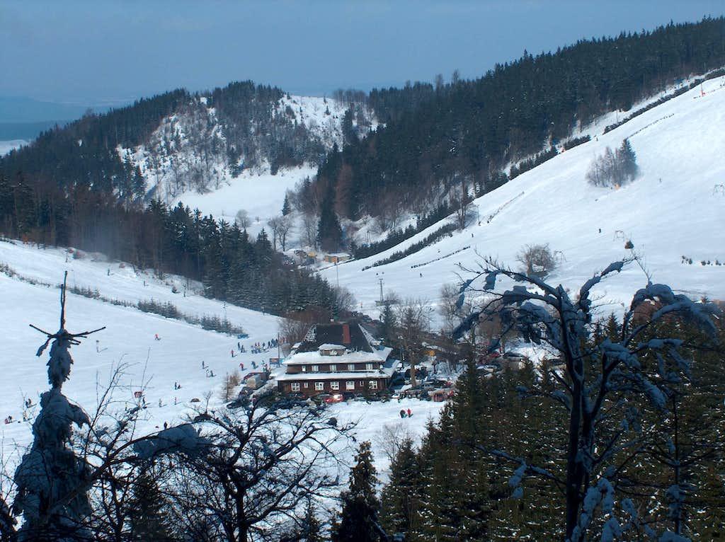 View to Andrzejowka hut
