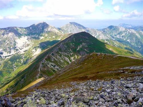 Baranec ridge