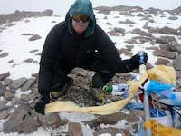 Aconcagua summit 12-02-2010 1600h