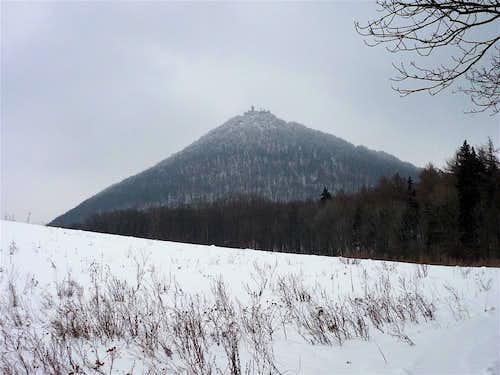 Milesovka, 837 m