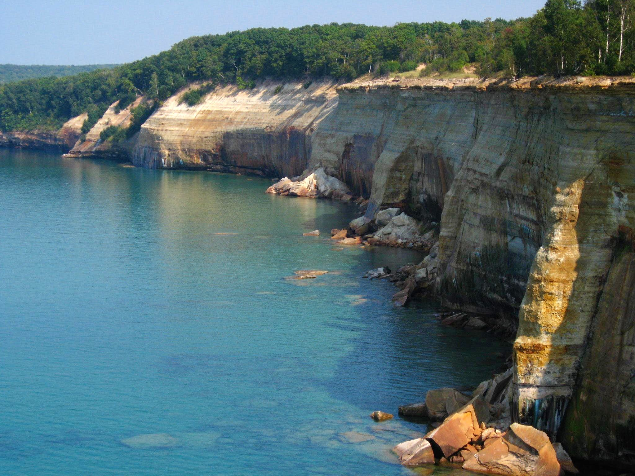 Pictured Rocks Through-Hike