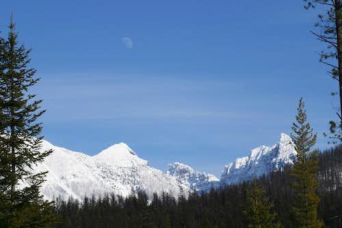 Moon Over Mount Doody
