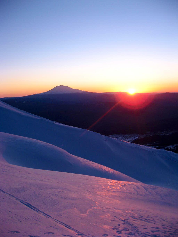 A St. Helens Sunrise