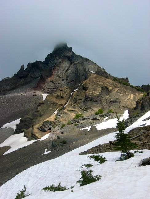Mt. Thielsen under...