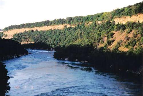 The Niagara Gorge is a...