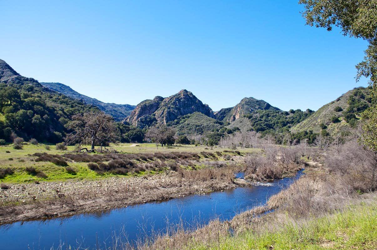 Malibu Creek State Park Climbing Hiking
