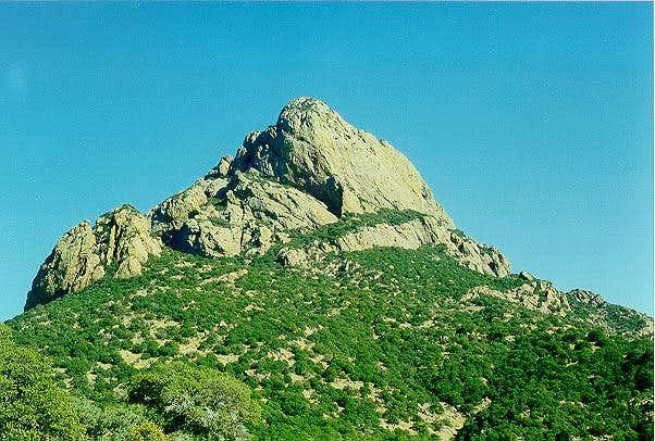 Baboquivari Peak.