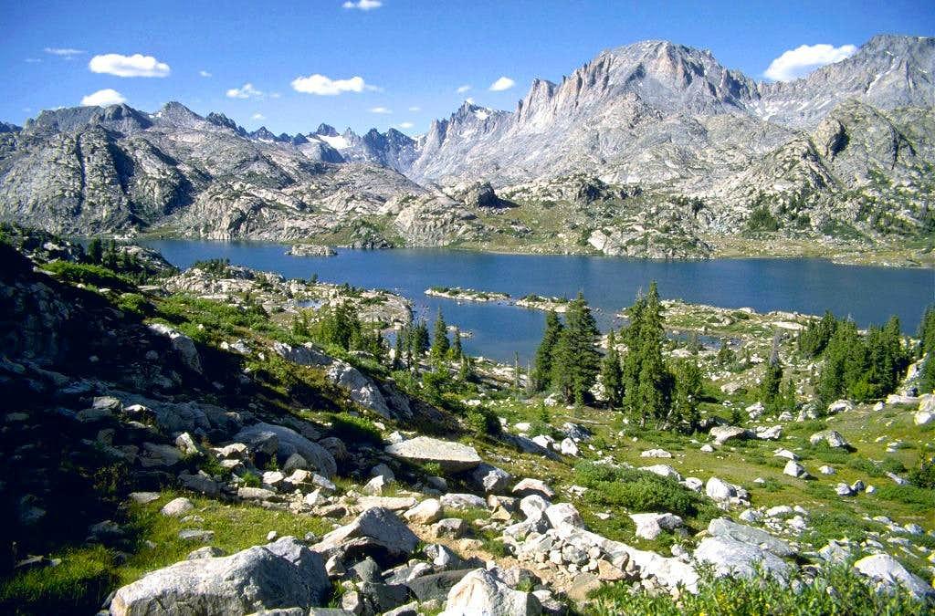 Island Lake and Titcomb Basin