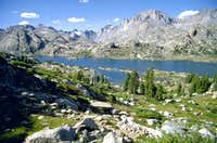 Island Lake and Titcomb Basin