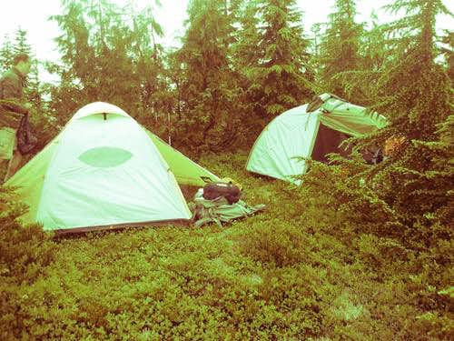 Camping at 2nd Meadows...