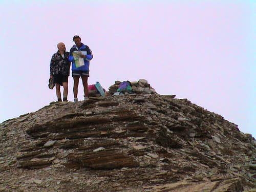 The Summit (3102m)
