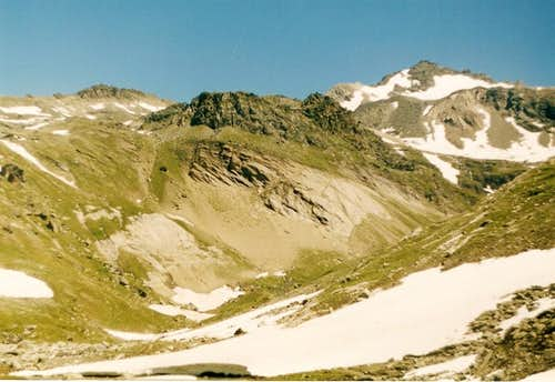Weisspitze from SW