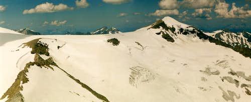 Kristallwand from Weisspitze