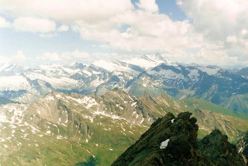 View to roof of Tauern