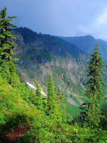 View of from Trail: Rainbow