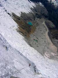 Huandoy Norte descent