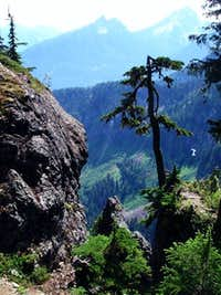 View from Mount Forgotten Trail in route to 2nd meadows