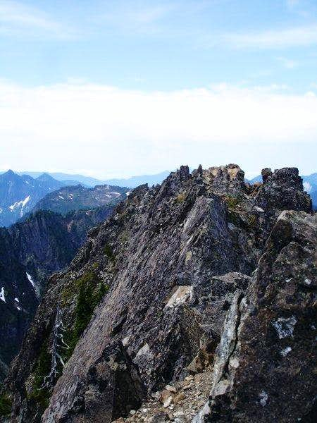 The Summit crags