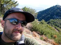 Mt. Wilson Summit Annoying Self Shot