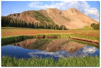 Hermosa Peak Reflection