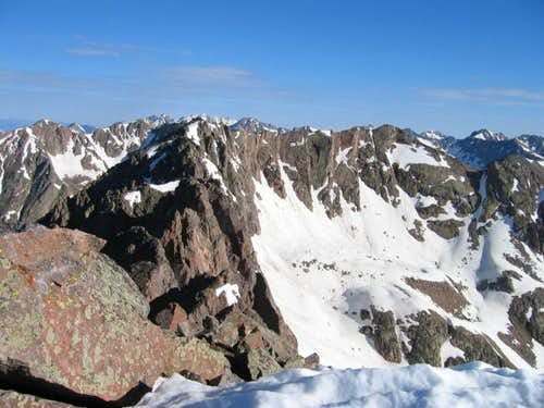 North Traverse Peak from the...