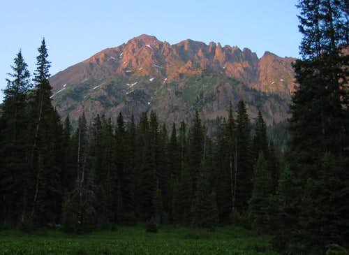 North Traverse Peak at...