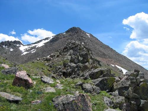 North Traverse Peak from...