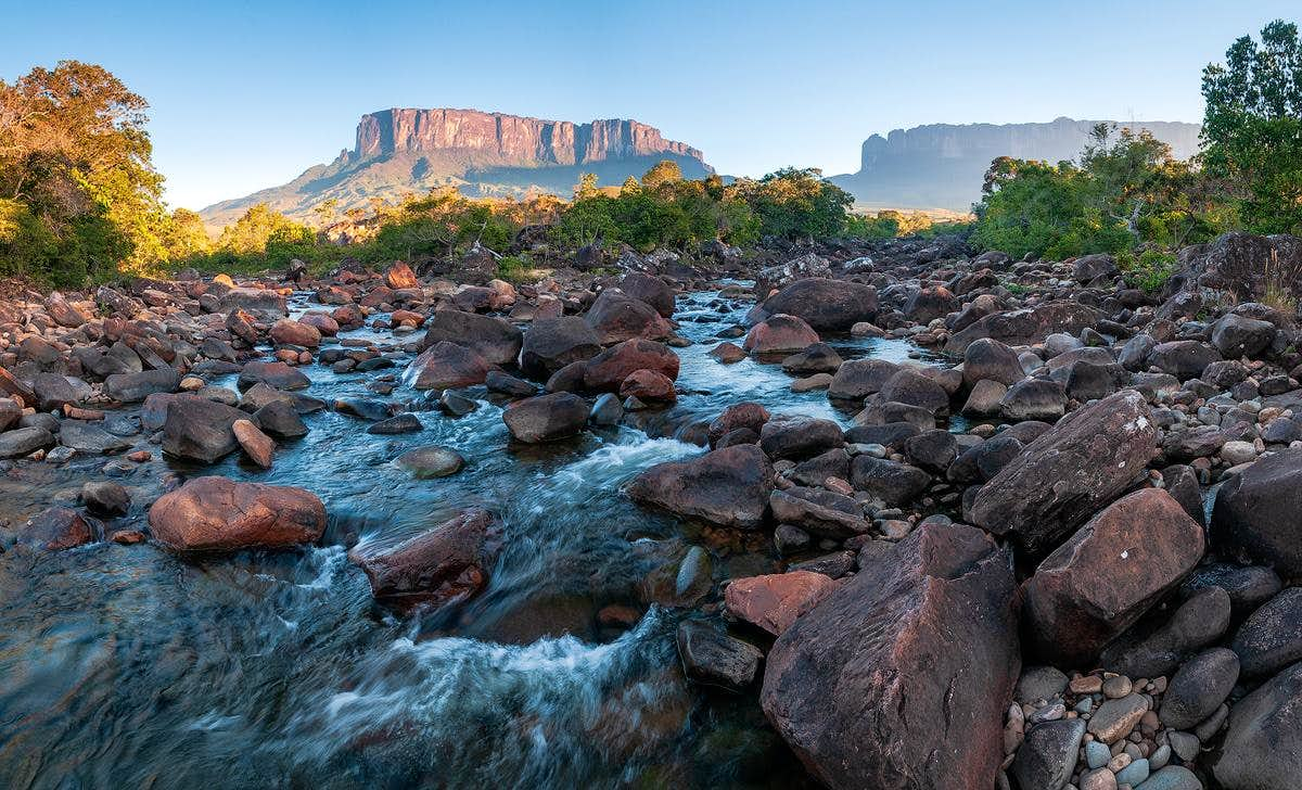 Monte Roraima and Canaima National Parks - Brazil/Venezuela