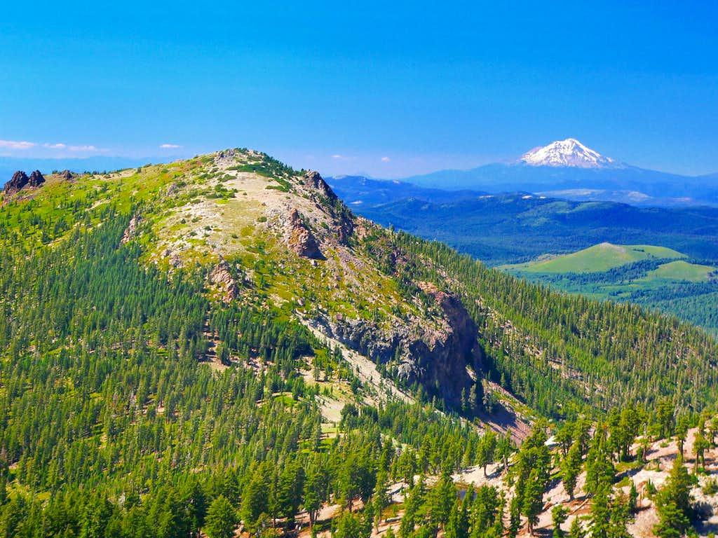 Loomis Peak with Mt. Shasta