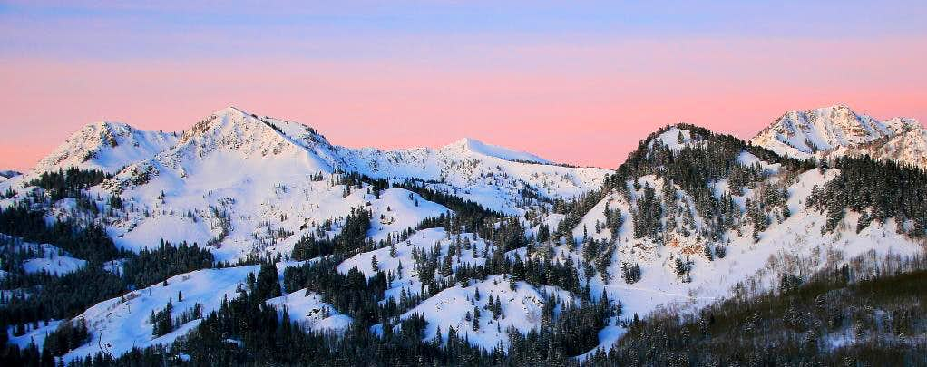 A new day in the Wasatch.
