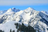 The Triple Traverse summits and Kessler Peak.