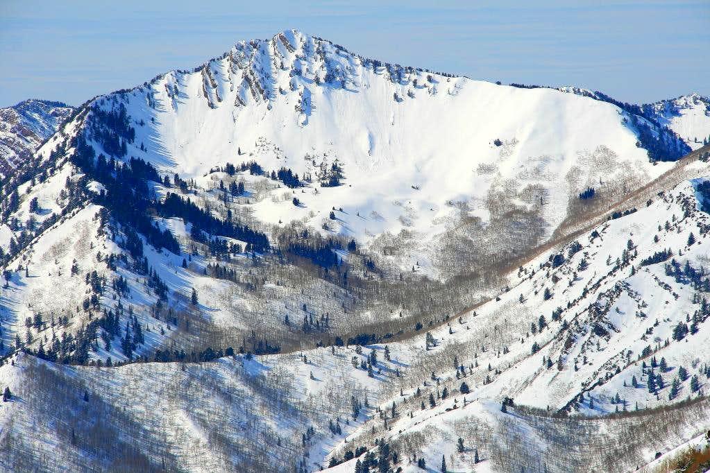 Mt. Raymond at 200MM.