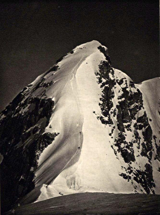 The Jungfrau south-east ridge