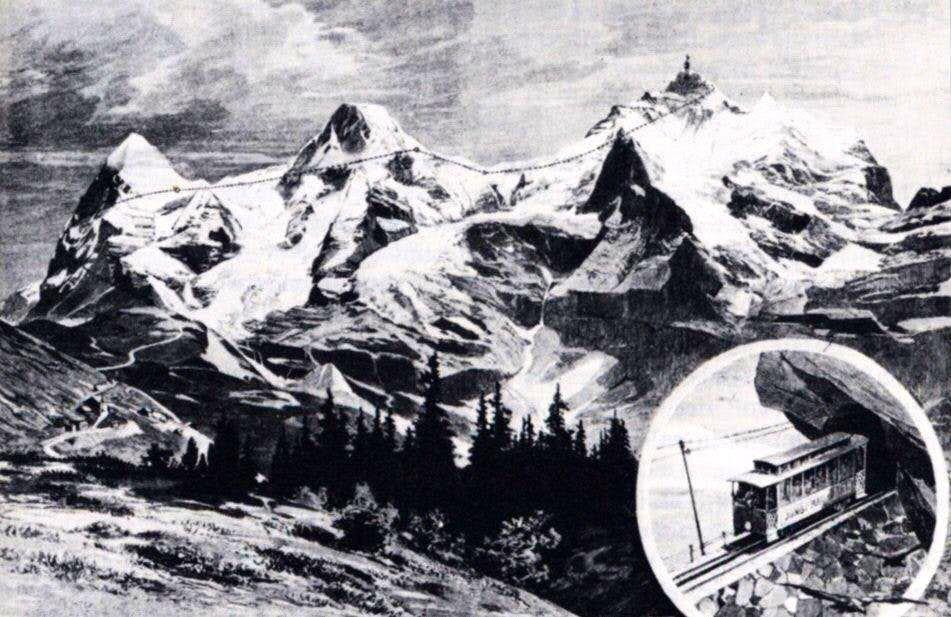 Railway to the Jungfrau summit