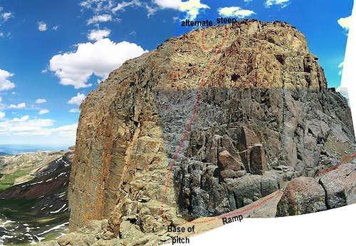 2x2 panoramic image of...