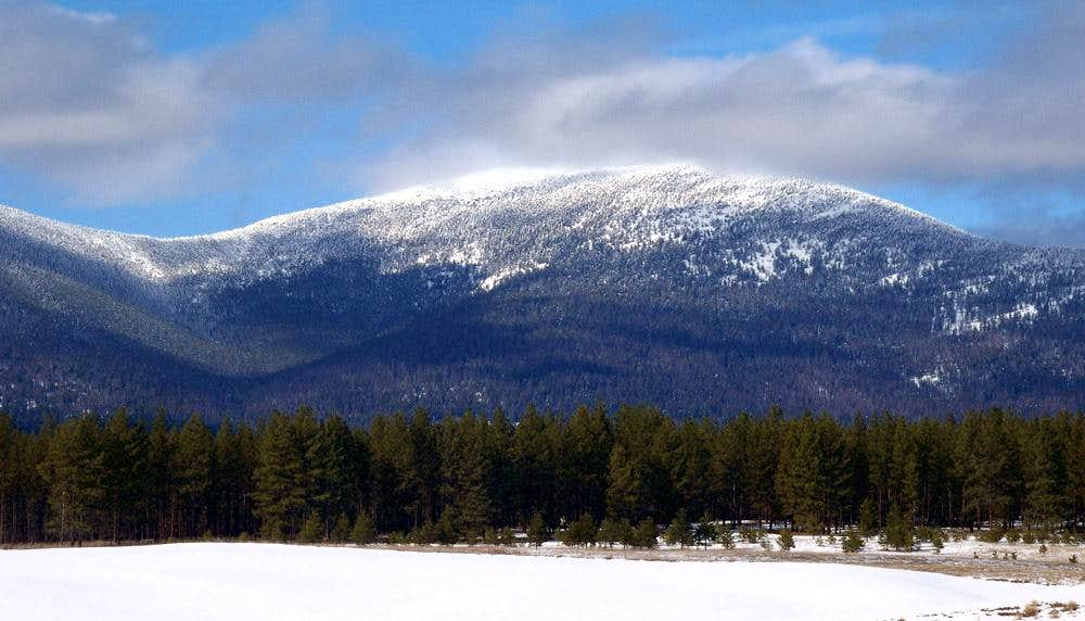 Mount Bonaparte, lower Monashee Mountains