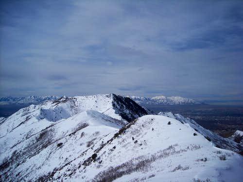 Summit view west