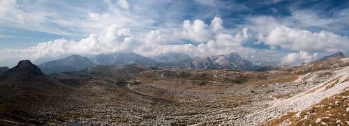 The big Foses Plateau