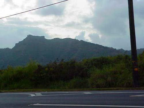 The view of Nuono Mountain,...
